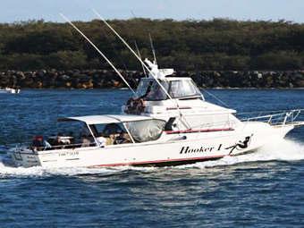 Gold Coast Fishing Charters - Hooker 1 Fishing Charters